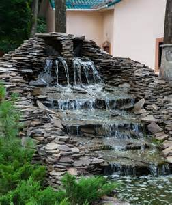 Stone Slate For Backyard 57 Garden Water Feature Designs Designing Idea