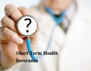 determine  short term health insurance companies