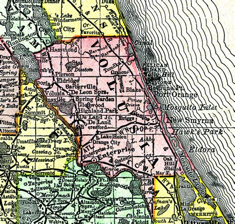 Volusia County Search Volusia County 1888