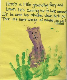 groundhog day italian groundhog day craft will try it tomorrow although it s