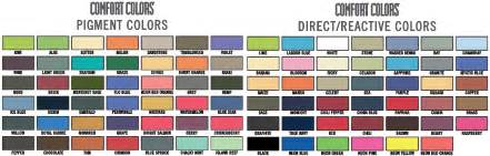 comfort colors color swatch how gildan became the name in streetwear the