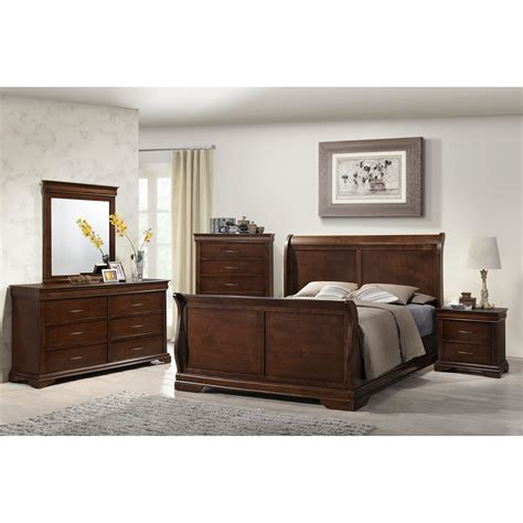 maple bedroom set julie bedroom set maple dark cherry finish copley wood panel headboard 4 piece bedroom set in