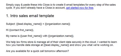 email sales templates the ultimate sales management toolkit 7 free templates to