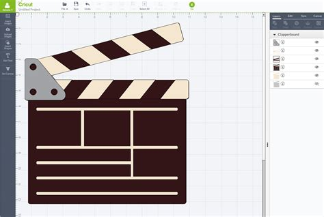 Clap Board Diy ideas and diy director s clapboard with cricut inspired