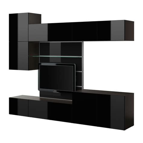 modern glossy finished ikea best 197 tv panel with media storage