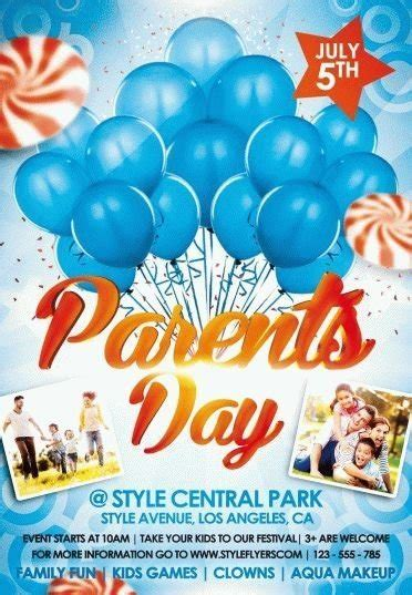 parent flyer templates parents day psd flyer template 9154 styleflyers