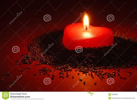 candela romantica una candela romantica fotografia stock immagine di fiamma