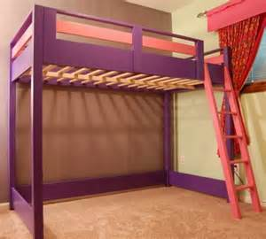 Loft Bed Size Diy Sleep And Play Loft Bed Do It Yourself Home Projects