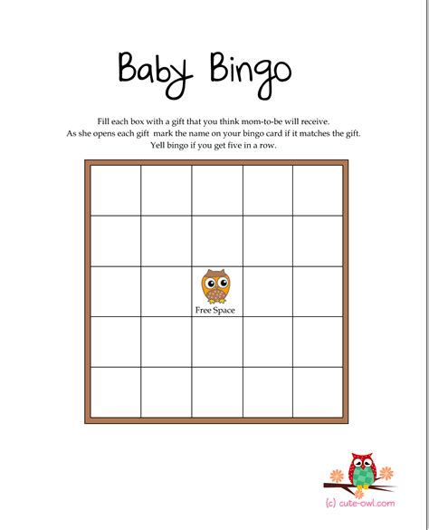 baby shower games templates free download free printable owl themed baby shower games woodland