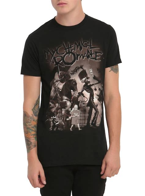 My Chemical Shirt my chemical the black parade t shirt topic