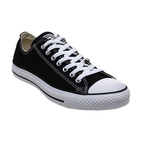jual converse chuck all ox low black made in