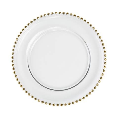 gold beaded charger plates gold beaded charger plate pearl decor ottawa