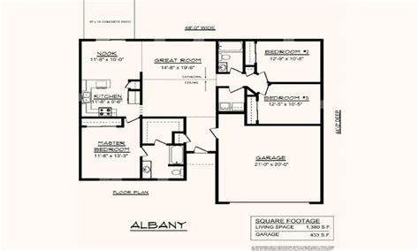 single story open floor plans one story 3 bedroom 2 open one story house plans 28 images best one story