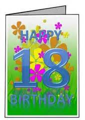 free printable 18th birthday card templates