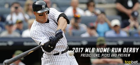 2017 mlb all home run derby predictions picks preview