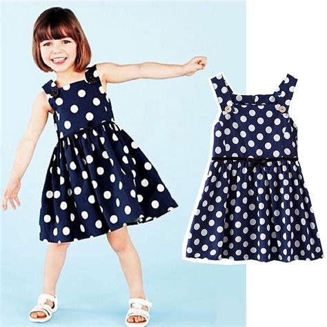 blue and white polka dot dress girls girls holiday party dress polka dot toddler baby girl