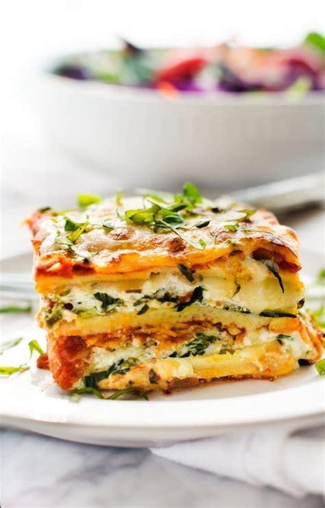 best easy vegetarian lasagna recipe the best veggie lasagna easy vegetable lasagna recipe