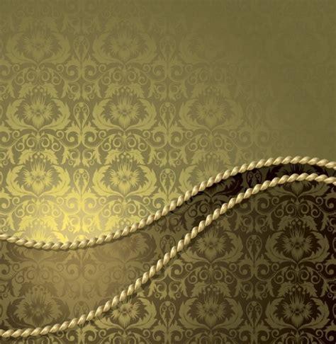 elegant batik wallpaper elegant vintage gold vector pattern backgrounds welovesolo