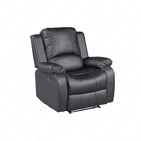 Recliner Sofa Suite Recliner Leather Black And Brown Sofa Suite For One Seater Ebay