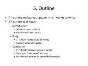 How To Write An Outline For A Research Paper by 10 Steps To Writing A Research Paper