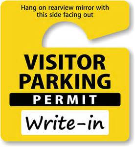 parking tag template do it yourself parking permits made on site