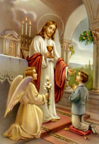 imagenes de jesus dando la comunion para imprimir y decorar tarjetas de primera comuni 243 n
