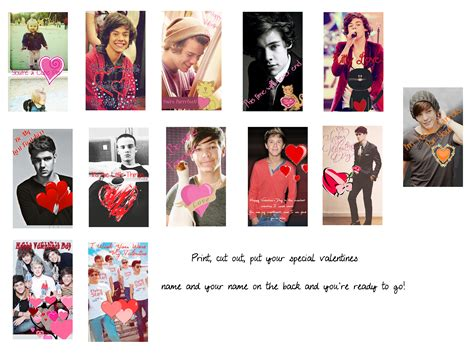 one direction s day cards one direction valentines day cards 2 by iluvlouis on