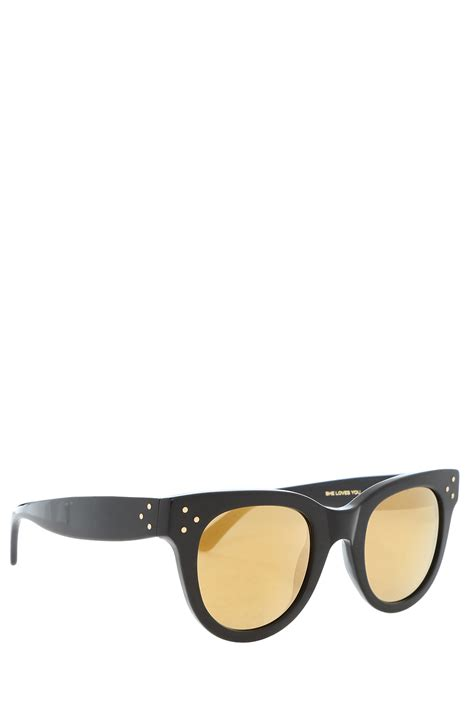 spektre she you sunglasses in black lyst