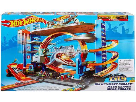 Garage Delle by Wheels Garage Delle Acrobazie Playset Mattel Ftb69