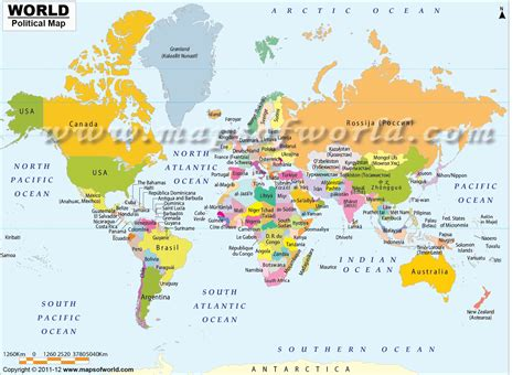 usa map with country names buy world map with countries in names