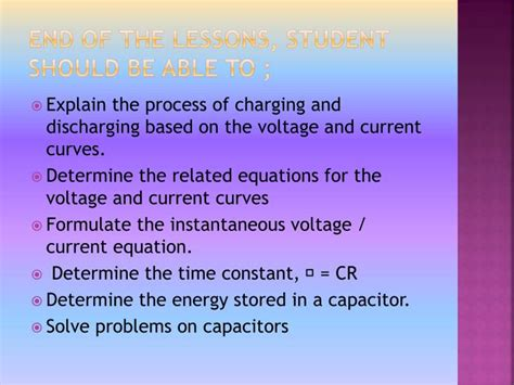 capacitor based problems ppt process of charging and discharging in a capacitor powerpoint presentation id 3416845