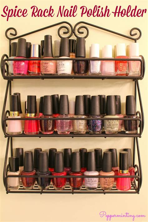 Spice Rack For Nail 14 best nail images on nail polishes nail racks and nail storage