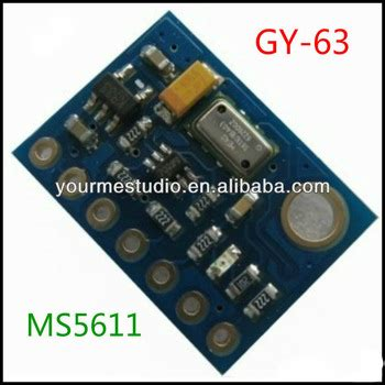 Gy 63 Ms5611 High Resolution Atmospheric Pressure 1 gy 63 ms5611 high resolution atmospheric height sensor
