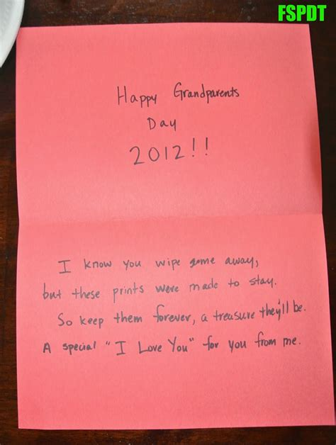 card ideas for grandparents day grandparents day craft card fspdt