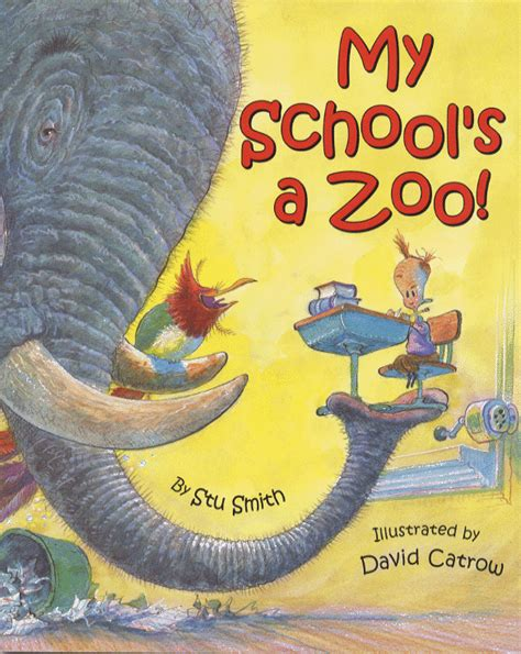 picture books with figurative language my school s a zoo