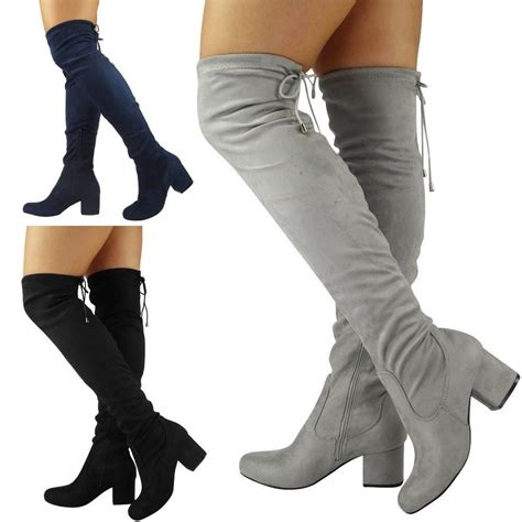 thigh high slippers womens thigh high the knee boots lace up
