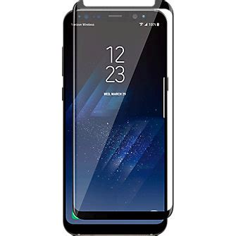 Tempered Glass Samsung Galaxy S8 Plus Anti Gores Warna 1 verizon curved tempered glass screen protector for galaxy s8 verizon wireless