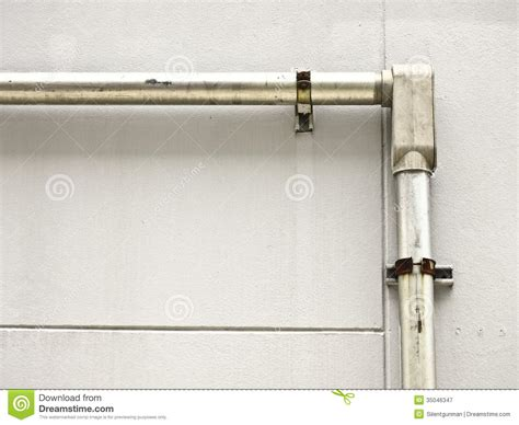 wiring conduit installation conduit and fitting stock image image of exterior