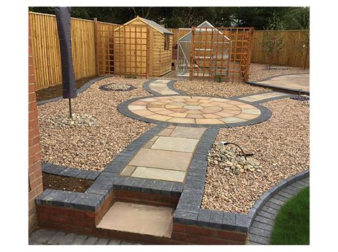slabbed patio designs slabbed gardens garden ftempo