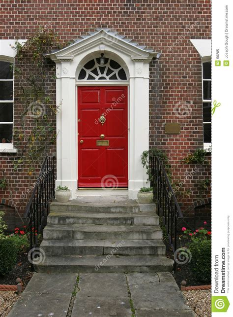 At The House Door by Georgian House Door Exterior Stock Image Image 50205