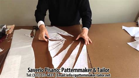 Pattern Making Youtube | pattern making for blue decolette dress by patternmaker