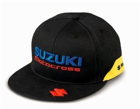 team yellow suzuki flat peak cap