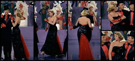 rosemary clooney white christmas red dress 1000 images about cinema costumes style on pinterest