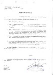Affidavit Of Facts Template by Doc 728957 Affidavit Of Facts Template Doc7301000