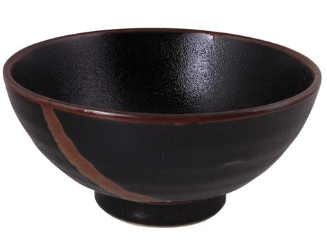 Unique Kitchen Canisters Sets simple contemporary abstract brown and black large noodle bowl