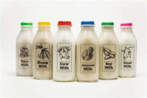 Pictures Of Different Milk Products