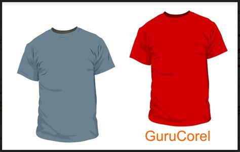 download desain baju kaos corel template vector kaos bisa di edit guru corel