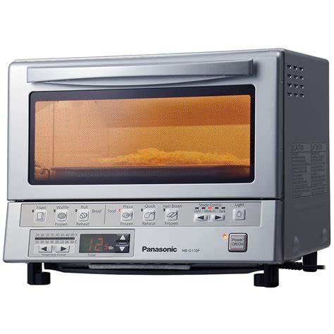 Panasonic Infrared Toaster panasonic nb g100p infrared toaster oven flashxpress 1300w