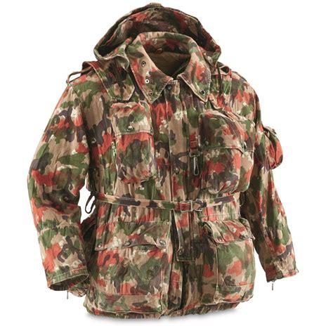 swiss surplus swiss surplus alpenflage battle set used