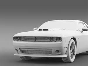 Dodge Challenger Hemi Shaker Dodge Challenger 392 Hemi Pack Shaker 3d Model